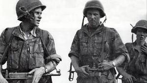 Soldats de l'armée française en Indochine en 1957