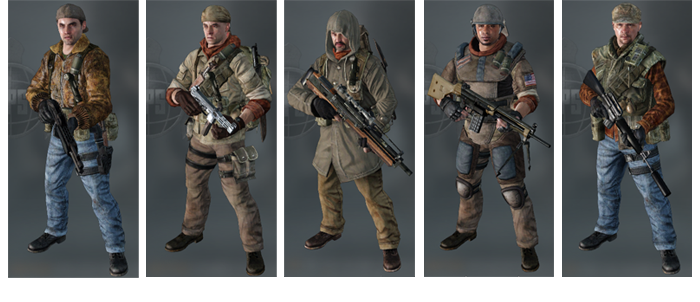5 tenues pour 5 atouts