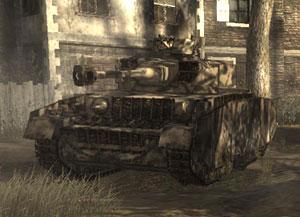 Le panzer iv allemands